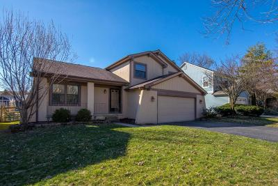 Columbus Single Family Home For Sale: 3725 Carnforth Drive