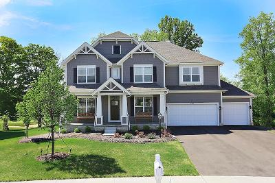 Westerville Single Family Home Contingent Finance And Inspect: 4762 Royal Birkdale Drive