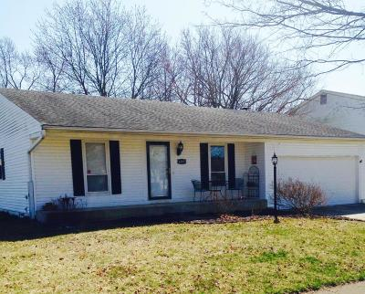 Reynoldsburg Single Family Home Contingent Finance And Inspect: 6495 Ethan Drive