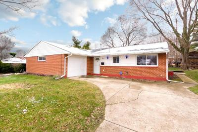 Westerville Single Family Home Contingent Finance And Inspect: 3442 Saigon Drive