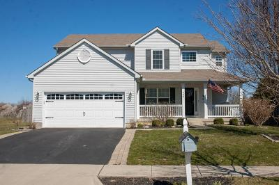 Groveport Single Family Home Contingent Finance And Inspect: 456 Voyager Drive