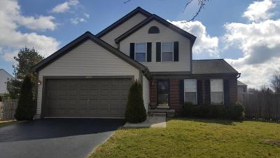 Hilliard Single Family Home Contingent Finance And Inspect: 4809 Grately Court