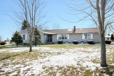 Pleasantville Single Family Home Contingent Finance And Inspect: 7500 Lancaster Thornville Road NE