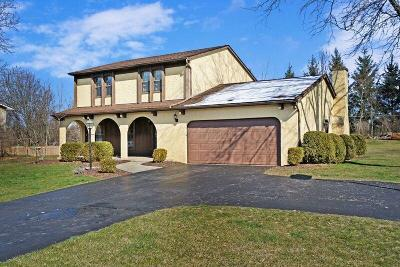 Reynoldsburg Single Family Home Contingent Finance And Inspect: 1267 Creekside Place