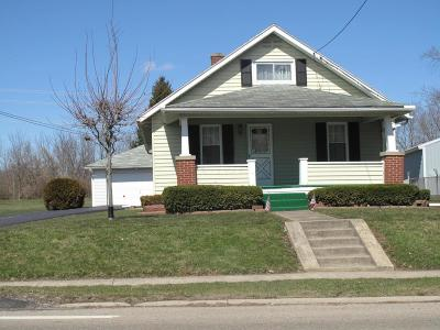 New Holland OH Single Family Home For Sale: $76,000