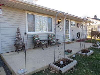 West Jefferson OH Single Family Home For Sale: $109,900