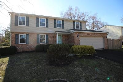 Westerville OH Single Family Home For Sale: $274,800
