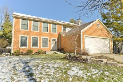 Hilliard Single Family Home Contingent Finance And Inspect: 4933 Wallington Drive