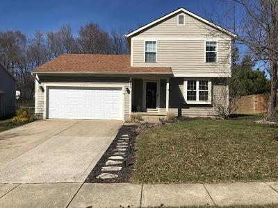 Pickerington Single Family Home Contingent Finance And Inspect: 461 Meadows Boulevard