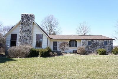 Centerburg Single Family Home Contingent Finance And Inspect: 8601 Trimmer Road