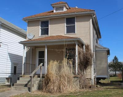 Mount Vernon OH Single Family Home For Sale: $70,000
