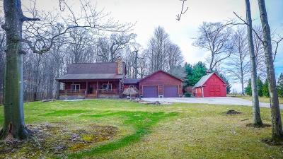 Fredericktown Single Family Home Contingent Finance And Inspect: 9860 Gregg Road