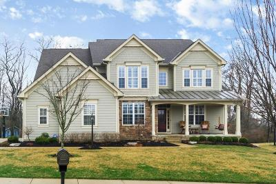 Dublin Single Family Home Contingent Finance And Inspect: 4389 Beech Wood Loop