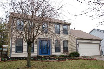 Hilliard Single Family Home Contingent Finance And Inspect: 4786 Brixston Drive