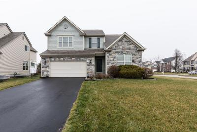 Hilliard Single Family Home Contingent Finance And Inspect: 5608 Maple Dell Court