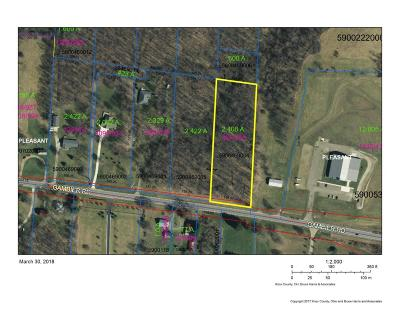 Residential Lots & Land Sold: 17721 Gambier Road
