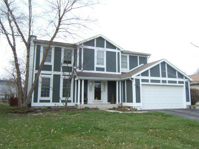 Hilliard Single Family Home Contingent Finance And Inspect: 5264 Goldfield Drive