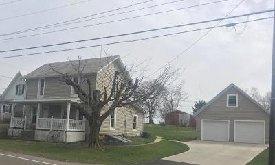 Thornville Single Family Home Contingent Finance And Inspect: 6758 National Road