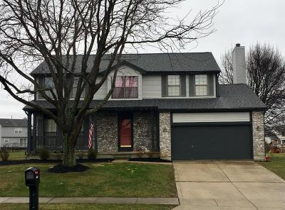 Reynoldsburg Single Family Home Contingent Finance And Inspect: 8427 Bedlington Drive