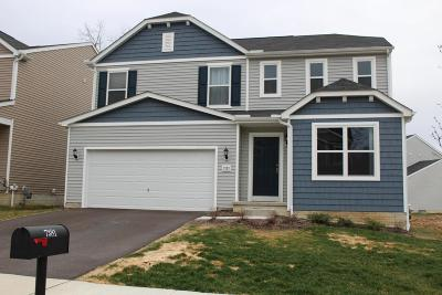 Reynoldsburg Single Family Home Contingent Finance And Inspect: 7381 Rum Cay Lane
