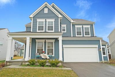 Hilliard Single Family Home Contingent Finance And Inspect: 6160 Golden Lane