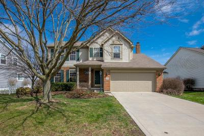 Hilliard Single Family Home Contingent Finance And Inspect: 5087 Edgeley Drive