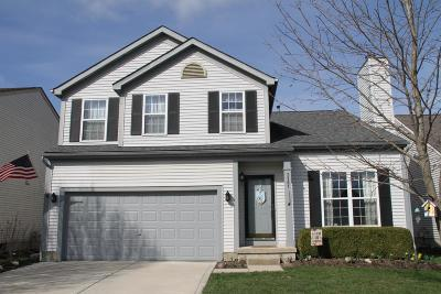 Hilliard Single Family Home Contingent Finance And Inspect: 3181 Heather Meadow Place