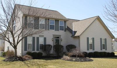 Westerville Single Family Home Sold: 5610 Breshly Way