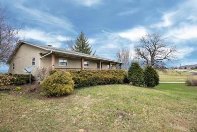 Johnstown Single Family Home Contingent Finance And Inspect: 9244 Johnstown Utica Road