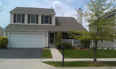 Dublin Single Family Home Contingent Finance And Inspect: 5185 Copper Creek Drive