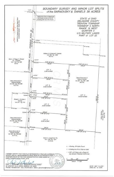 Sunbury Residential Lots & Land For Sale: Longshore Lot 1 Road