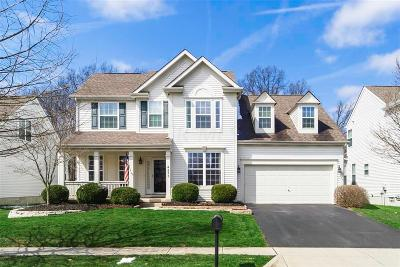 New Albany Single Family Home Contingent Finance And Inspect: 4273 Sals Nook Drive