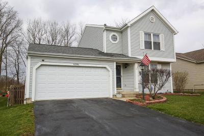 Canal Winchester Single Family Home Contingent Finance And Inspect: 6384 Chelsea Glen Drive