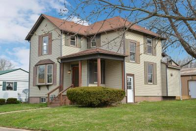 Single Family Home For Sale: 53 W Canal Street