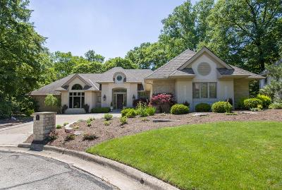 Upper Arlington Single Family Home Contingent Finance And Inspect: 5025 Slate Run Woods Court