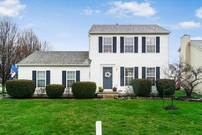Hilliard Single Family Home Contingent Finance And Inspect: 2878 Quailview Lane