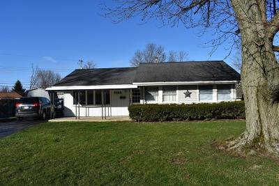 Hilliard Single Family Home Contingent Finance And Inspect: 5240 Crescent Court