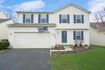 Blacklick Single Family Home Contingent Finance And Inspect: 8335 Crete Lane