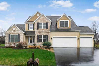 Hilliard Single Family Home Contingent Finance And Inspect: 4820 Nadine Park Drive