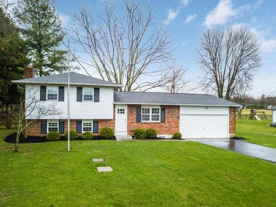 New Albany Single Family Home Contingent Finance And Inspect: 6920 Bevelhymer Road