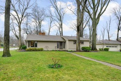 Upper Arlington Single Family Home Contingent Finance And Inspect: 3176 Leeds Road