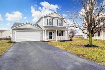 Canal Winchester Single Family Home Contingent Finance And Inspect: 5514 Englecrest Drive
