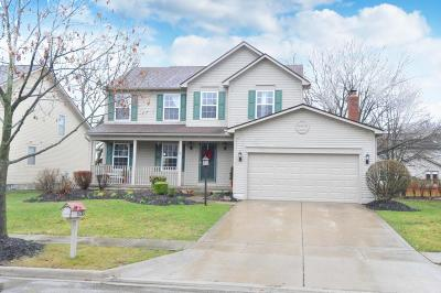 Dublin Single Family Home Contingent Finance And Inspect: 5733 Richgrove Lane