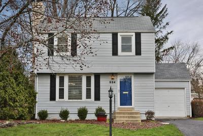 Worthington Single Family Home Contingent Finance And Inspect: 524 Colonial Avenue