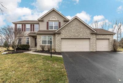 Dublin Single Family Home Contingent Finance And Inspect: 6680 Wisteria Circle