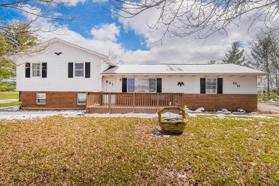 Single Family Home Contingent Finance And Inspect: 6316 Miller Church Road