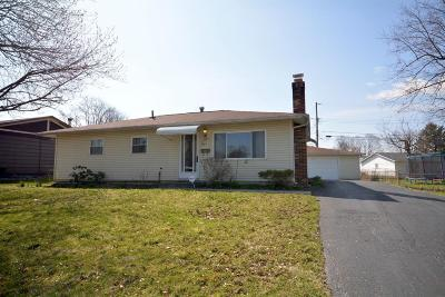 Reynoldsburg Single Family Home Contingent Finance And Inspect: 7423 Warwick Avenue