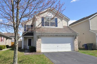 Canal Winchester Single Family Home Contingent Finance And Inspect: 3968 Boyer Ridge Drive