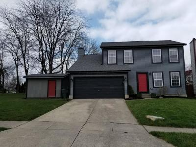 Pickerington Single Family Home Contingent Finance And Inspect: 3229 Long Cove Court