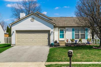 Reynoldsburg Single Family Home Contingent Finance And Inspect: 8822 Ormiston Circle